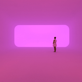 Virtually Squared, une oeuvre de James Turrell