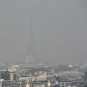 Pic de pollution à Paris: pas de circulation alternée ce vendredi