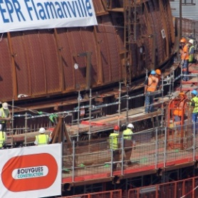 EPR: une amende modeste requise contre Bouygues