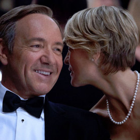 Kevin Spacey et Robin Wright dans