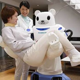 Robear, robot ours, japon