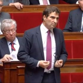 Incident à l'Assemblée nationale après le tweet de Lionnel Luca