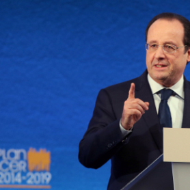Plan cancer: Hollande veut
