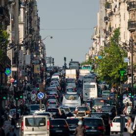 La circulation alternée mise en place lundi à Paris