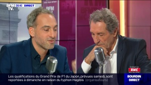 Raphaël Glucksmann face à Jean-Jacques Bourdin en direct - 11/10