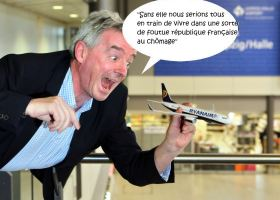 Le best of des citations choc du patron de Ryanair, Michael O'Leary