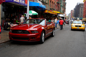 Ford Mustang: balade en cheval sauvage