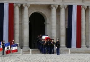 En Images, l'hommage national à Simone Veil