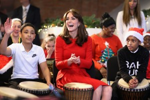 Kate Middleton fête Noël au Anna Freud Centre de Londres