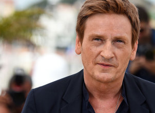 """This file photo taken on May 13, 2015 shows French actor Benoit Magimel posing during a photocall for the film """"Standing Tall"""" (Tete Haute) ahead of the opening of the 68th Cannes Film Festival in Cannes, southeastern France, on May 13, 2015. The actor that just won the Best Supporting Actor award for """"La Tete Haute (Standing Tall)"""" during the 41st edition of the Cesar Ceremony was held in custody on March 13, 2016 for unintentional injuries and use of narcotics after he ran over a sexagenarian woman in Paris, according to judicial and police-related sources."""