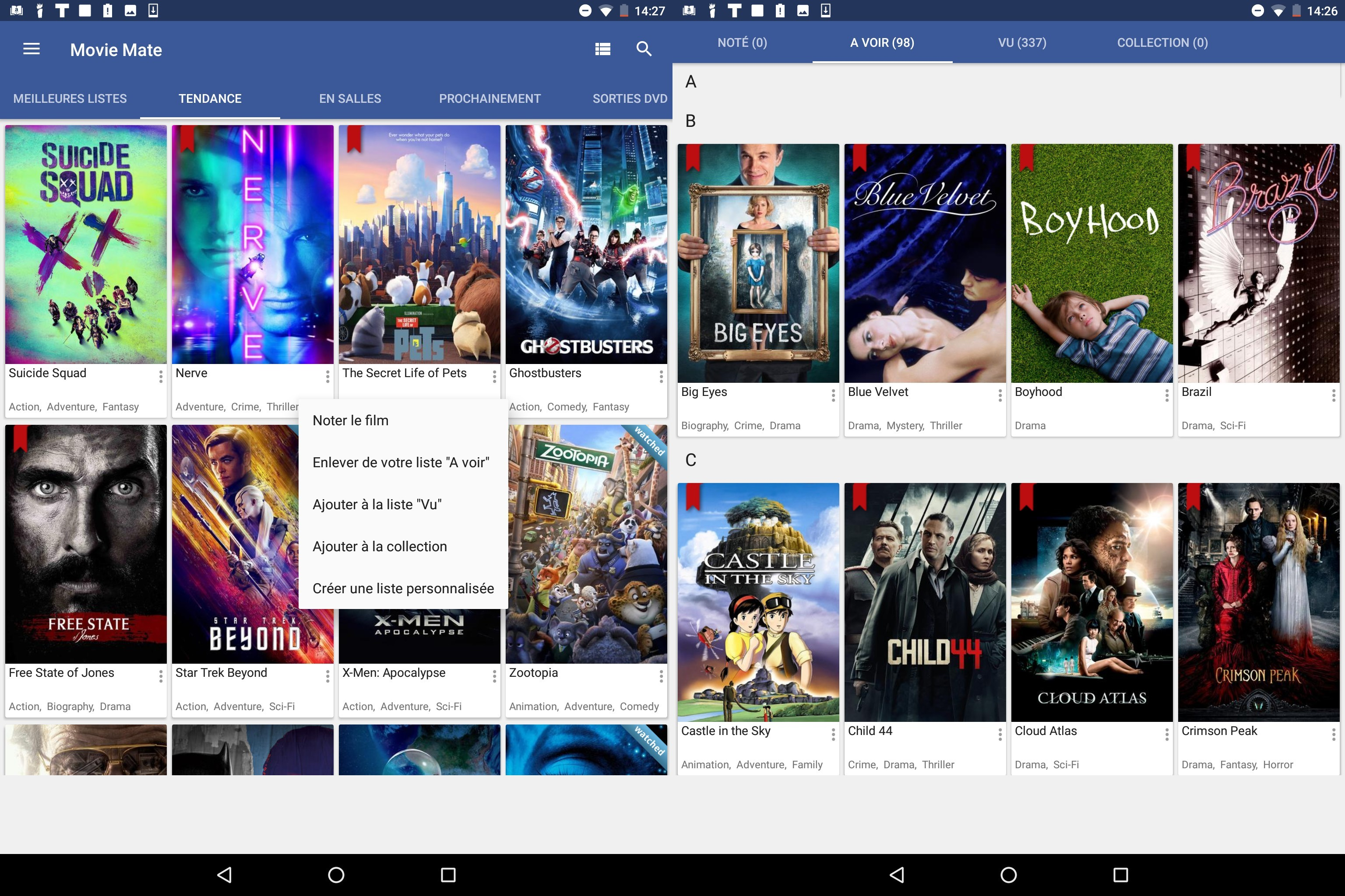 Application android pour telecharger les films