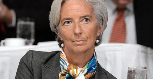 Christine Lagarde, présidente du Fonds Monétaire International (FMI).