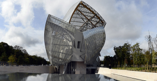 La Fondation Louis-Vuitton, à Paris, signée Frank Gehry.