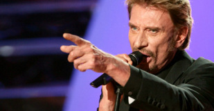 Le nouveau single de Johnny Hallyday,