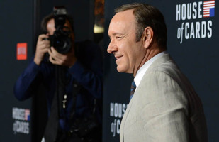 Kevin Spacey, acteur principal de la série House of Cards.