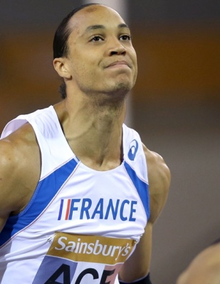 Pascal-Martinot Lagarde, champion d'Europe du 60m haies