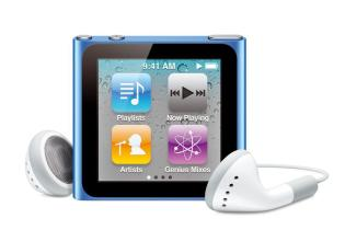 iPod nano 16 Go - 6G (Apple)