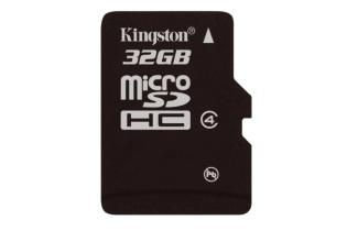 microSDHC 32GB (Kingston)