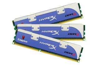 Kit Triple Channel HyperX 1600 MHz 12 Go (Kingston)
