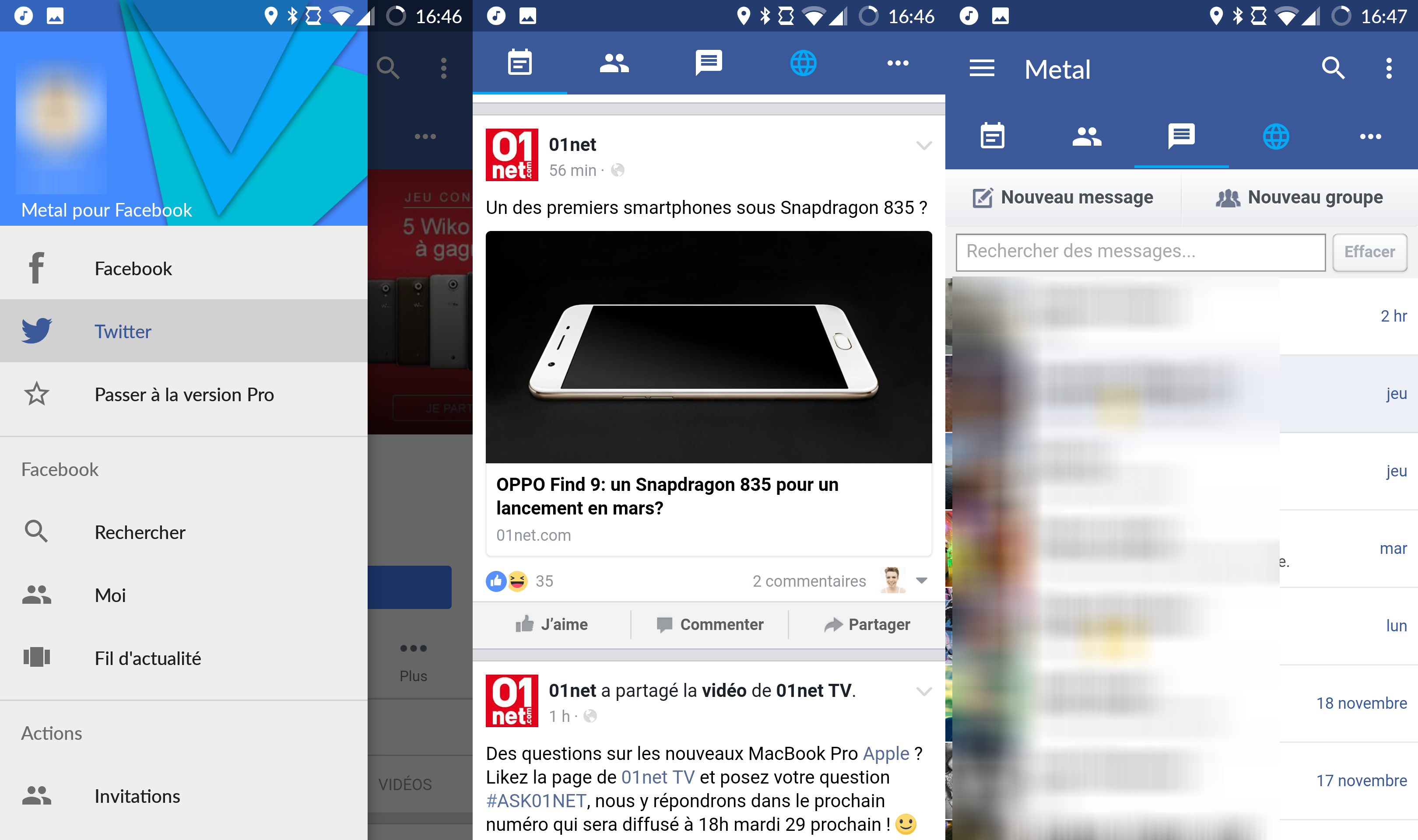 logiciel appel video facebook gratuit 01net