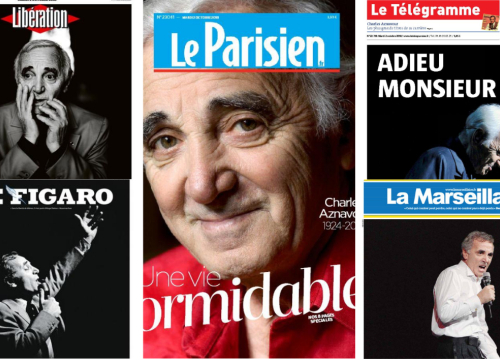 """Charles Aznavour, """"For me, formidable"""""""
