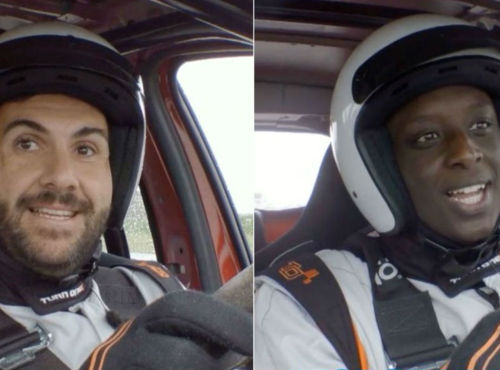 Top Gear France saison 3: Ahmed Sylla vs Laurent Ournac, ou le défi du café moutarde