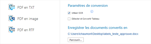 Comment convertir un PDF scanné en Word ?