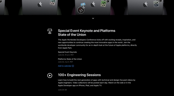 Wwdc 2020 Apple Tiendra Sa Traditionnelle Keynote Le 22 Juin A 19h