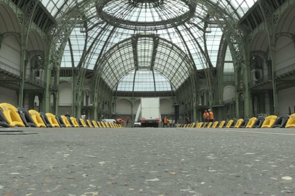 Tour de France: les coureurs vont passer sous la nef du Grand Palais lors du sprint final