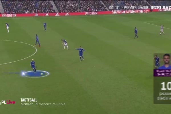 Mahrez, Riyad la menace
