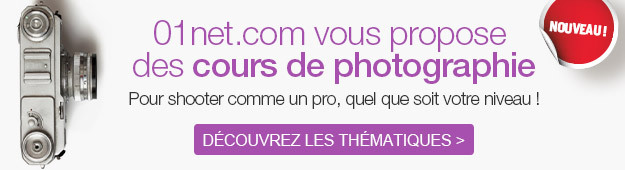 Cours Photo 01net.com