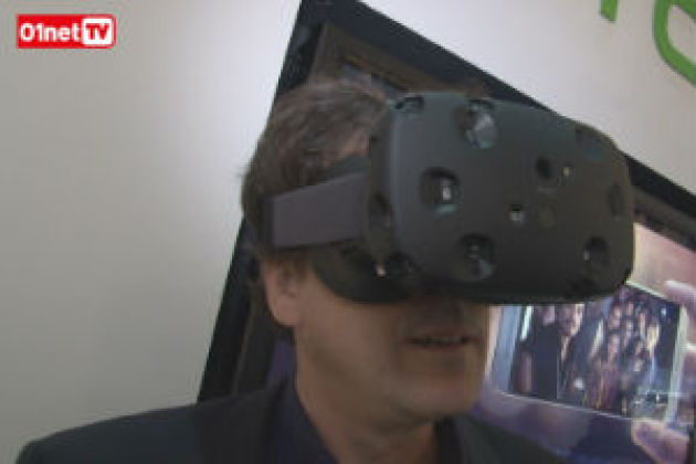 MWC2015 : on a essayé le masque HTC Vive, bluffant !