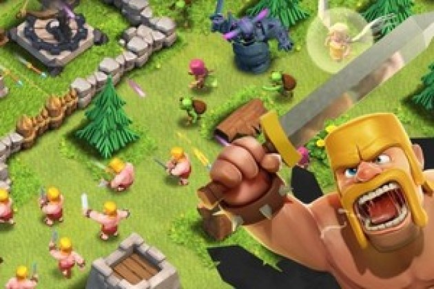 Clash of clans compte déjà plus d'un million d'adeptes en France.