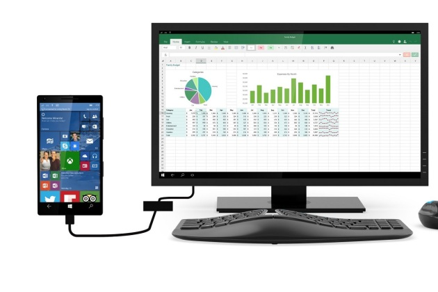 La fonction Continuum de Windows 10 nécessite un Snapdragon 808 ou 810