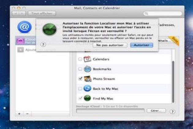 Le « mode Safari » de Mac OS X Lion ne copie pas Chrome OS
