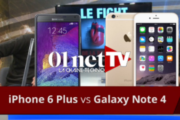 iPhone 6 Plus contre Galaxy Note 4 : le fight ! (vidéo du jour)
