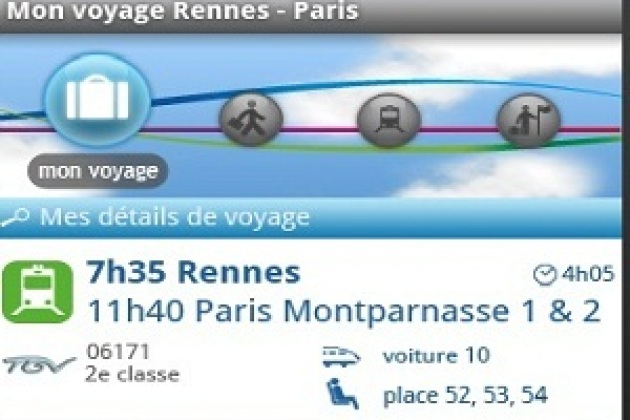 Voyages-sncf lance la version iPhone de son application Compagnon (MAJ)