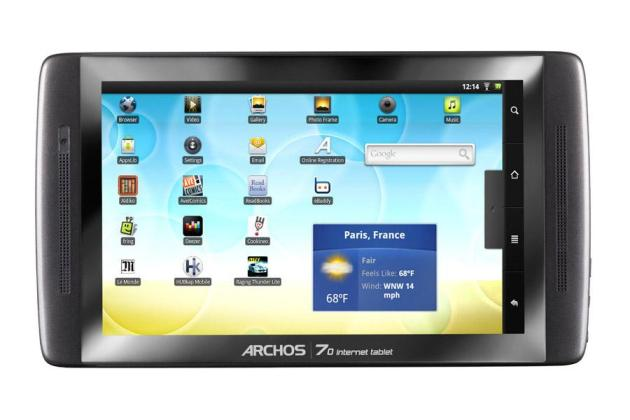 Archos Archos 70 Internet tablet 250 Go