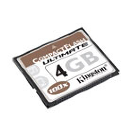 Des cartes Compact Flash 2 et 4 Go ultraperformantes