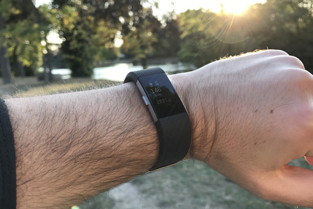 Le Fitbit Charge 2.