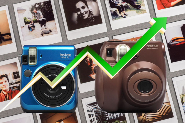 Photo instantanée : l'irrésistible ascension de l'Instax de Fujifilm