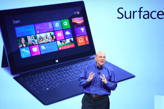 Microsoft confirme Windows 8 et Surface pour le 26 octobre