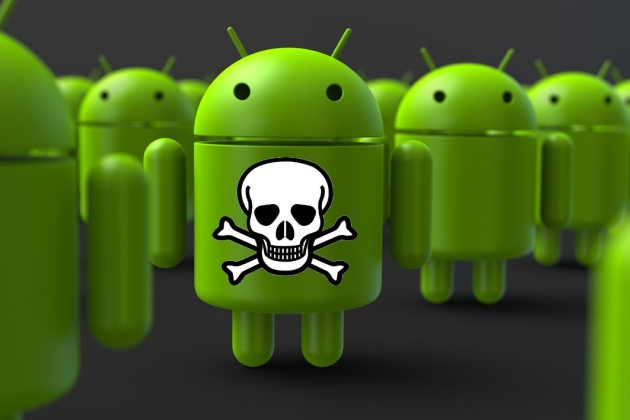 Android tête de mort malware