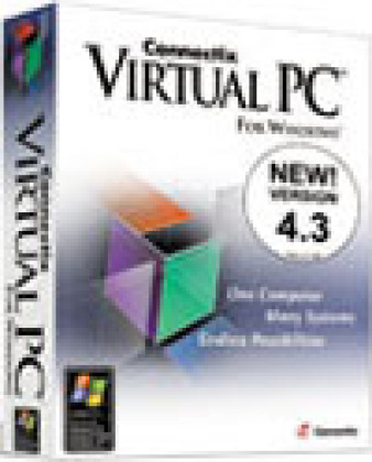 Virtual PC pour Windows 4.3, de Connectix.