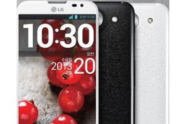 LG lance son smartphone grand écran à l'assaut du Galaxy Note 2