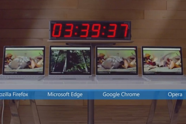 Windows 10 : Microsoft dézingue Chrome pour mieux vanter son Edge