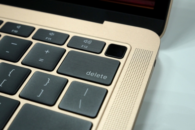 Le clavier papillon du MacBook Air.