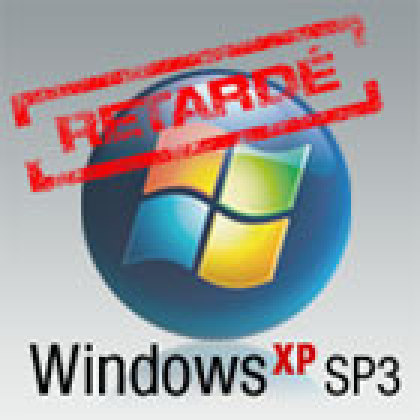 Le SP3 de Windows XP rate sa sortie