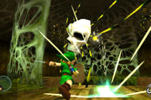 The Legend of Zelda Ocarina of Time, de Nintendo