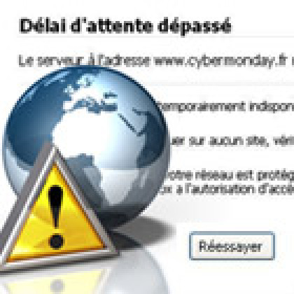 La grande braderie du Cybermonday rate son lancement en France